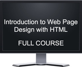Introduction to Web Page Design with HTML - Full Course