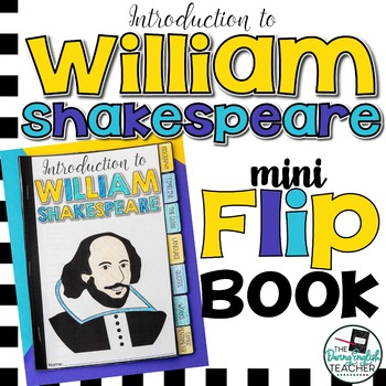 Introduction to William Shakespeare Mini Flip Reference Book