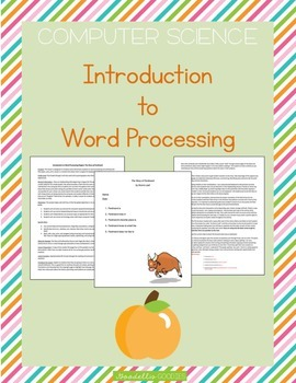 Introduction to Word Processing_Pages for MAC