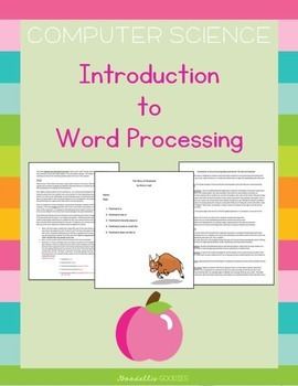 Introduction to Word Processing_Word for MAC or PC