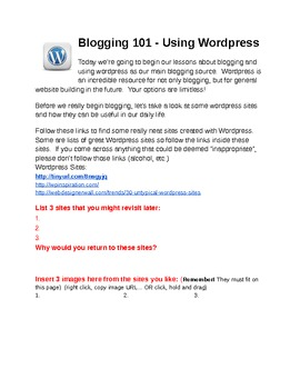 Introduction to Wordpress 101
