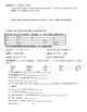 Introduction to Work and Power Guided Notes and Practice Worksheet