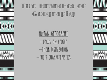 Introduction to World Geography