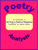 "Introduction to Writing a Poetry Response--""Scaffolding"" b"