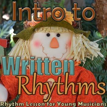 Turkey/Thanksgiving - Introduction to Written Rhythms - Kindergarten Lesson