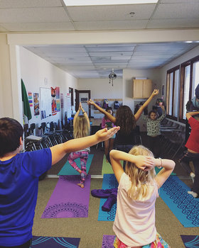 Introduction to Yoga: A lesson Plan for kids age 3-10