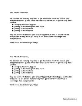 Introduction to Zipper Club Letter