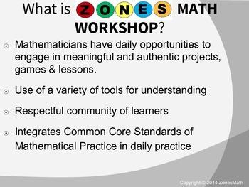 Introduction to Zones Math - A Balanced Math Framework (Guided Math & Workshop)