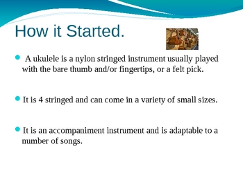 Introduction to a Ukelele