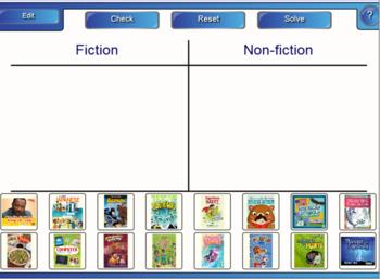 Fiction and Nonfiction Books Introduction SmartBoard Lesson