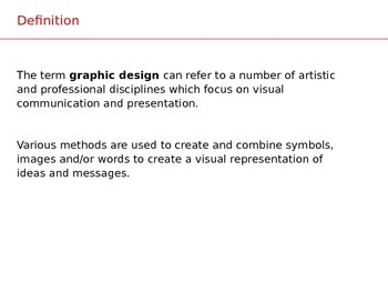 Introduction to graphic design