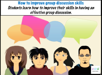 Introduction to group discussion - speaking and listening skills