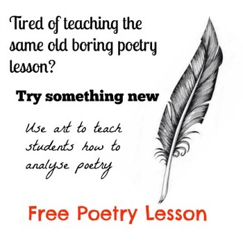 Introduction to Poetry - Free Lesson