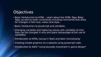 Introduction to programming in HTML5/JavaScript - Programming
