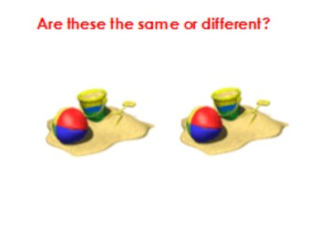 Introduction to same vs different