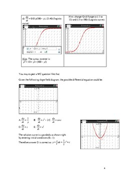 Introduction to slope fields and differential equations.
