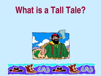 Introduction to tall tales Powerpoint