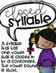 Introduction to the 6 Syllable Types