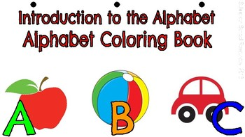 Introduction to the ABC: Alphabet Coloring Book