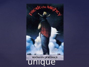 Introduction to the Book Freak the Mighty