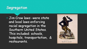 Introduction to the Civil Rights Movement - Middle Grades