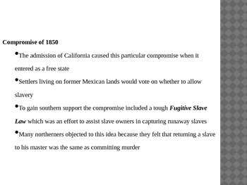 Introduction to the Civil War (African American History version)