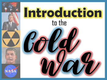 Introduction to the Cold War PowerPoint (Effects of WWII)