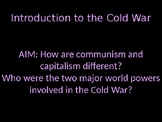 Introduction to the Cold War presentation