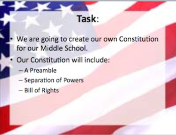 Introduction to the Constitution Lesson Plan + Activity