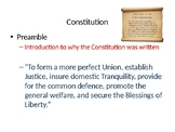 Introduction to the Constitution and Principles of Government