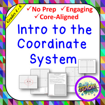 Intro to Coordinate System Freebie