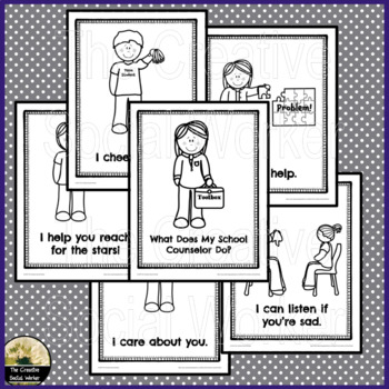 Introduction to the Counselor/Social Worker Coloring Book