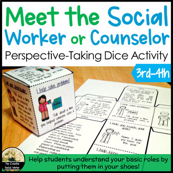 Introduction to the Counselor/Social Worker Dice Activity