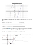 Introduction to the Derivative (Gradient of a Tangent)
