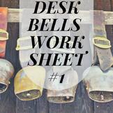 Introduction to the Deskbells (Deskbells Worksheet #1)