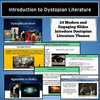 Dystopian Literature Genre Introduction: Use with Any Dystopian Fiction