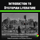 Dystopian Literature Genre Introduction: Use with Any Dyst