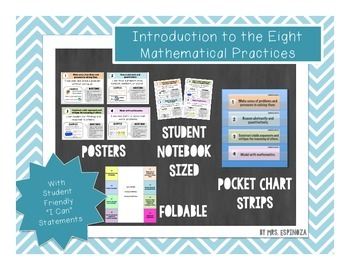 Introduction to the Eight Mathematical Practices- Bundle!
