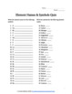 Introduction to the Elements - Element Names & Symbols Quiz
