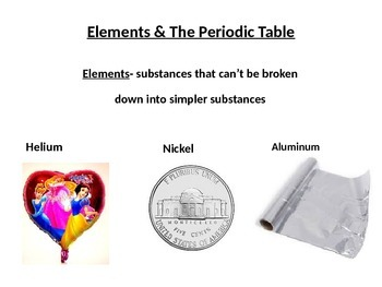Introduction to the Elements and the Periodic Table
