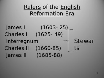 Introduction to the English Reformation