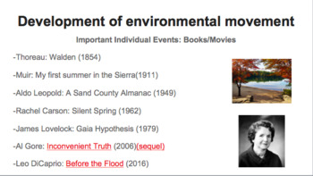 Introduction to the Environmental Movement