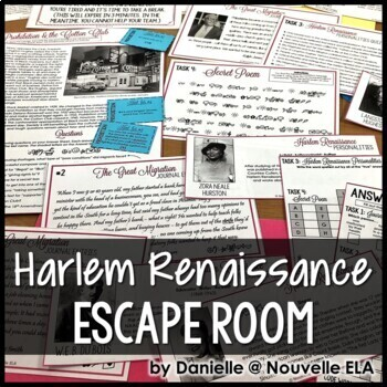 Introduction to the Harlem Renaissance Escape Room