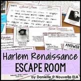 Introduction to the Harlem Renaissance Escape Room