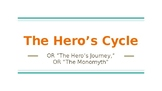 Introduction to the Hero's Cycle or Hero's Journey Lesson