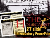 Holocaust Introduction: Open Class Discussion with Google Slides