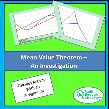 Calculus:  Mean Value Theorem - An Introduction