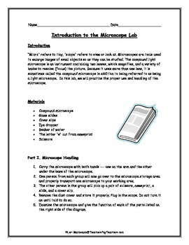 Introduction to the Microscope Lab