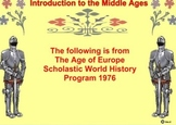 Introduction to the Middle Ages - Bill Burton