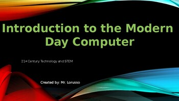 Introduction to the Modern Computer